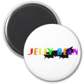 Jelly Bean logo Magnet