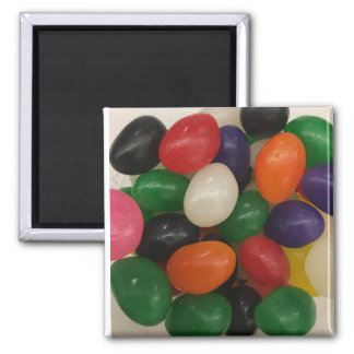 Jelly Bean Mag Square Magnet