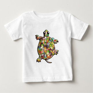 Jelly Bean Turtles Baby T-Shirt