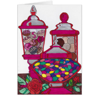 Jelly Bean Valentine's Card