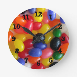 Jelly Bean Wall Clock