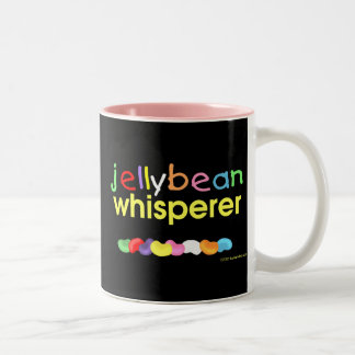 Jelly Bean Whisperer Two-Tone Coffee Mug