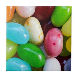 Jelly Beans Ceramic Photo Tile