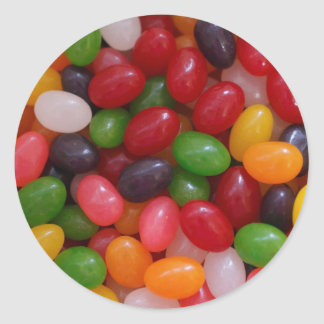 Jelly Beans Classic Round Sticker