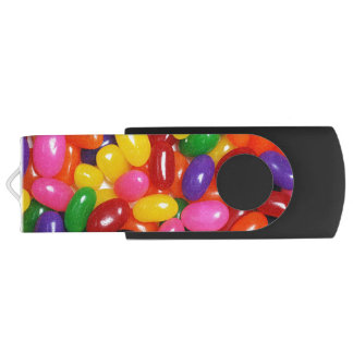 Jelly Beans Customizable Swivel USB 2.0 Flash Drive