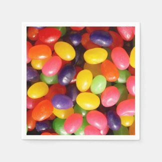 Jelly beans disposable napkins