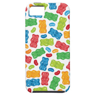 Jelly Beans & Gummy Bears Pattern Case For The iPhone 5