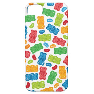 Jelly Beans & Gummy Bears Pattern iPhone 5 Case
