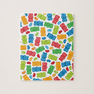 Jelly Beans & Gummy Bears Pattern Puzzles