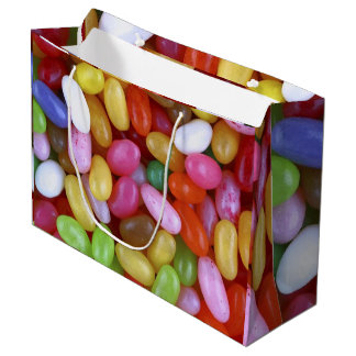 Jelly Beans on Large Gift Bag
