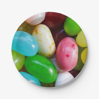 Jelly Beans Paper Plate