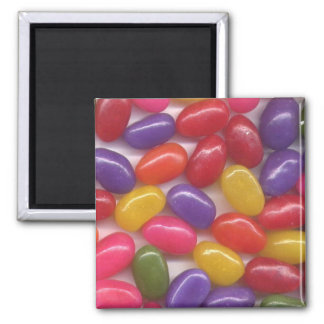 Jelly Beans Square Magnet