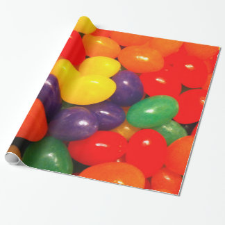 Jelly Beans Wrapping Paper