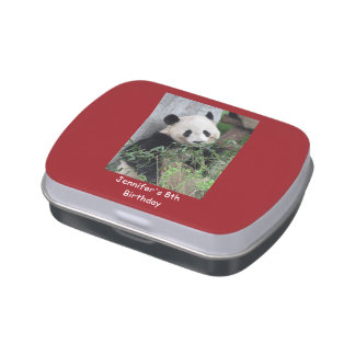 Jelly Belly Tin Panda Party Favor 8th Birthday