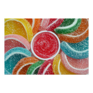 jelly candy poster print