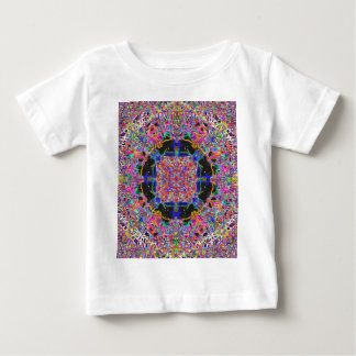 Jelly Candy Sweet Mandala Squares And Circles Baby T-Shirt