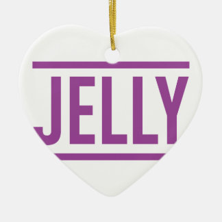 Jelly Ceramic Ornament
