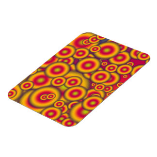 Jelly Donuts Invasion Rectangle Magnet