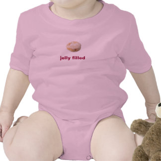 jelly filled. baby bodysuit