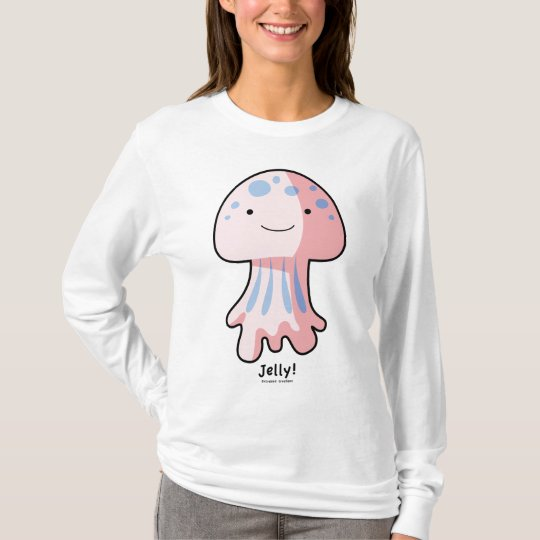 Jelly Fish Ladies AA Hoody Long Sleeve