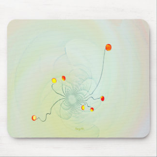 Jelly Flowers Mouse Pad
