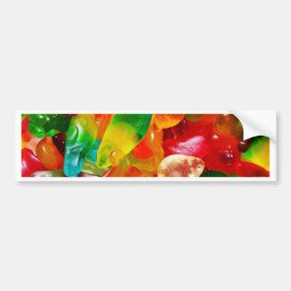 jelly gum bumper sticker