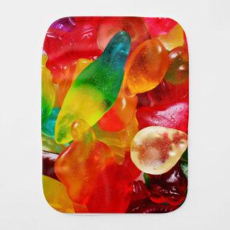 jelly gum burp cloth