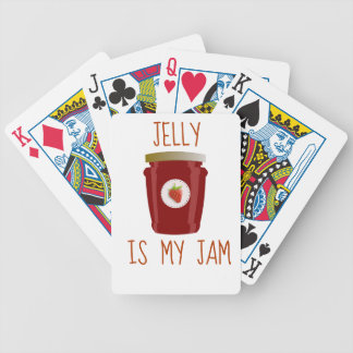 Jelly is My Jam Bicycle Playing Cards