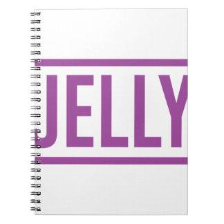 Jelly Notebooks