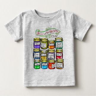 Jelly of the Month Club Funny Christmas Baby T-Shirt