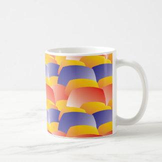 Jelly Pattern RBY Coffee Mug