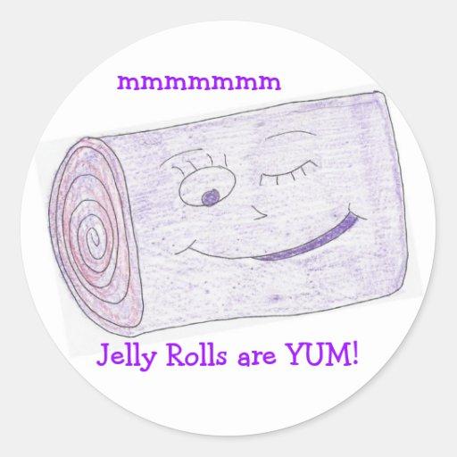 Jelly Rolls are YUM! Sticker
