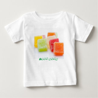 Jelly Sweets with Fruits Flavor Baby T-Shirt