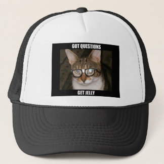 Jelly the Advice Kitty Trucker Hat