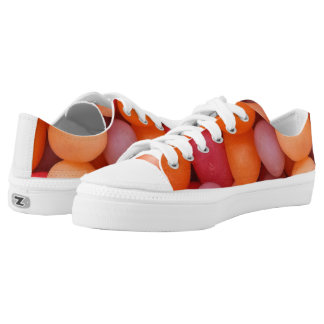 Jellybeans Candy Low Top Zipz Sneakers Shoes