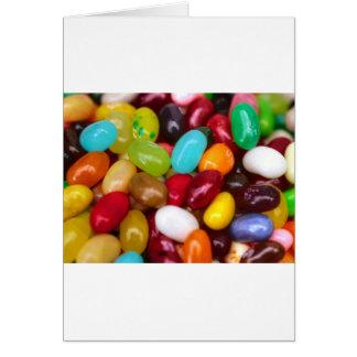 Jellybeans sweet treat card