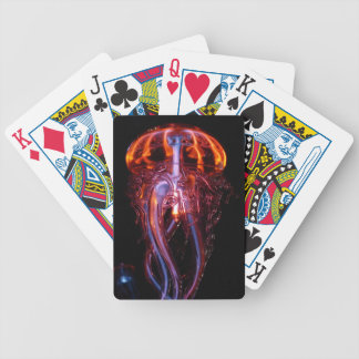 jellyfish-113386 BEAUTIFUL OCEAN SEA CREATURE JELL Bicycle Playing Cards