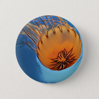 Jellyfish 2 Inch Round Button