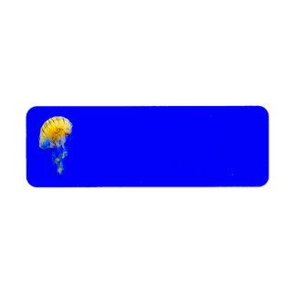 jellyfish-386680 BRIGHT ROYAL BLUE YELLOW COLORFUL