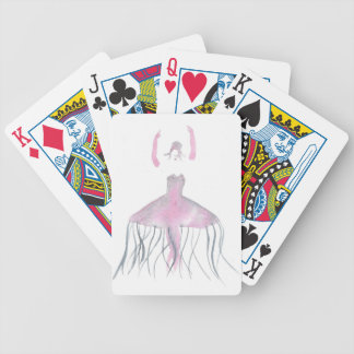 Jellyfish Ballerina - Annette Bicycle Playing Cards