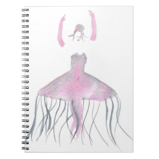 Jellyfish Ballerina - Annette Notebook