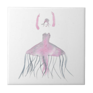 Jellyfish Ballerina - Annette Tile