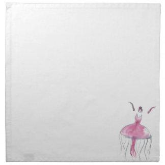 Jellyfish Ballerina - Bridgette Napkin