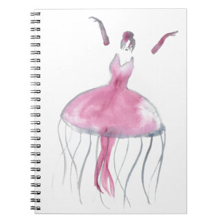Jellyfish Ballerina - Bridgette Notebook