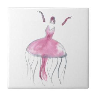 Jellyfish Ballerina - Bridgette Tile