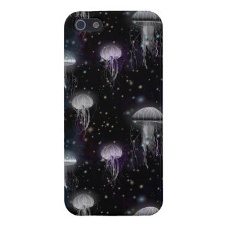 Jellyfish By Night iPhone 5/5S Cover