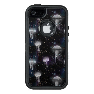 Jellyfish By Night OtterBox Defender iPhone Case
