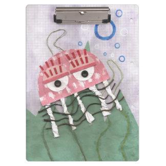 Jellyfish Comb Clipboard