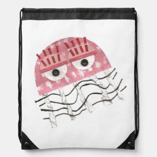 Jellyfish Comb Drawstring Bag