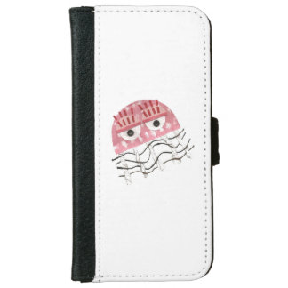 Jellyfish Comb I-Phone 6/6s Wallet Case